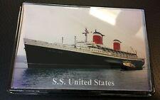 SS UNITED STATES Photo Fridge Magnet Cruise Ship Ocean Liner c