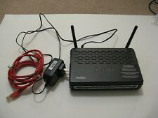Verizon D-Link DSL wired/wireless Modem Router DSL-2750B w/ PowerAdapter & Cable