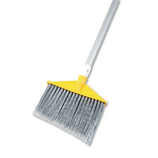 """Rubbermaid Commercial Angled Large Brooms Poly Bristles 48 7/8"""" Aluminum Handle"""