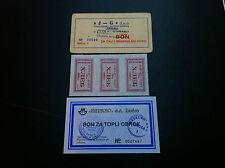 LOCAL NOTE- CROATIA- VELIKA GORICA- VESNA- J-G d.o.o 1980s + GRATIS BONS !