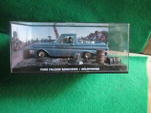 FORD FALCON RANCHERO GOLDFINGER (JAMES BOND CAR COLLECTION) LOT D21
