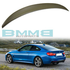 Unpainted Rear Trunk Spoiler BMW F32 Coupe 2D 2018 428i 4-Series