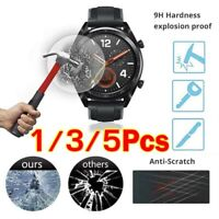 5pcs For Huawei GT Watch Real Tempered Glass Screen Protector Film HQ UK RR