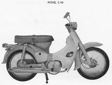 Honda C90 CD90 CL90 CT90 S90 C CD CL CT S 90 Workshop Service Repair Manual