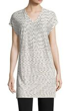 Eileen Fisher Painter Organic Linen Jersey Tunic Small Orig $188