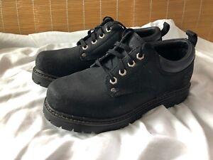 Sketchers Mens Shoes Black Size 7 US boot low7111 BKS Alley Cat M7
