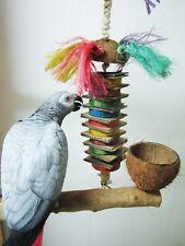 Papageien Spielzeug Pisa Tower, 35 cm Knabbervergnügen mit Glocke, Neuheit 2016