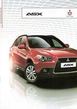 Prospekt / Brochure Mitsubishi ASX 01/2012 mit Preisliste