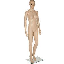 Schaufensterpuppe weiblich Frau Figur Mannequin Deko 360° beweglich Größe:172cm