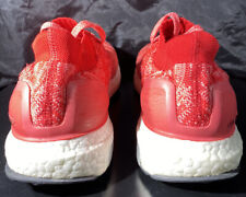 Adidas Ultra boost Sz 10 wmns or 9 mens  woven Nmd Mesh Red lot  og