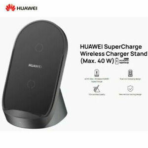 New CP62 Huawei SuperCharge Wireless Charger Stand 40W Desktop Car Charger