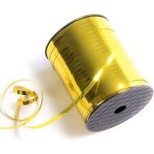 Cinta de oro brillante 500 Metros de Cadena de globo que se encrespa