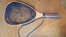 Wooden Handled Trout Dip Net, Fishing Net