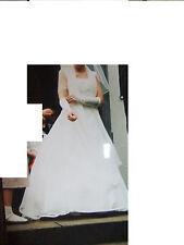 Zauberhaftes Brautkleid von Fa. Weise, Gr. 36, champagner