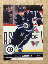 17-18 UD Series 1 RARE Promo Team Set JETS #JET-1 BLAKE WHEELER