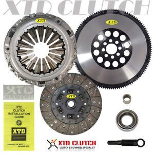 XTD PREMIUM CLUTCH KIT & CHROMOLY SOLID FLYWHEEL fits NISSAN 350Z G35 VQ35DE Z33