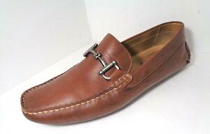 Mint 1901 Mens Driving Moccasins MOCS Horse Bit  Loafers US Size 12M