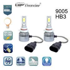 GP Thunder Cree LED Headlight 9005 HB3 6000K Low High Beam Fog DRL Bulb White