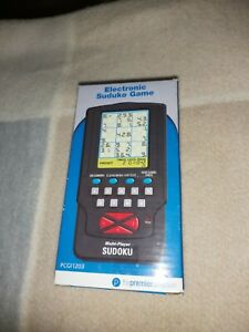 ELECTRONIC SUDUKO GAME, NEW AND BOXED