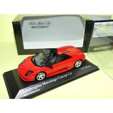 LAMBORGHINI MURCIELAGO BARCHETTA Concept Car 2004 Rouge Red MINICHAMPS 1:43