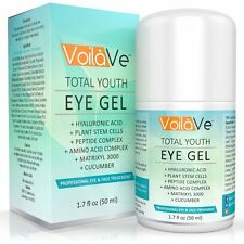 Total Youth Under Eye Gel Best Eye Cream for Dark Circles, Puffiness, & Wrinkles
