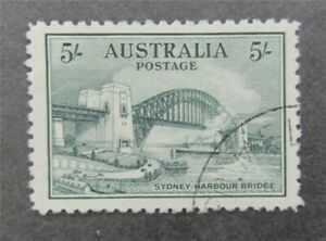 nystamps British Australia Stamp # 132 Used $350   U18y1462