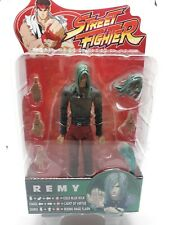 2005 SOTA TOYS--STREET FIGHTER--REMY FIGURE IN BLACK & RED OUTFIT  ROUND 4 A27
