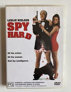 Spy Hard (DVD) Region 4 Leslie Nielsen Naked Gun Comedy OOP VGC!