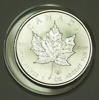 2014 Canada $5 Five Dollars .9999 Maple Leaf Silver BU Queen Elizabeth II Coin
