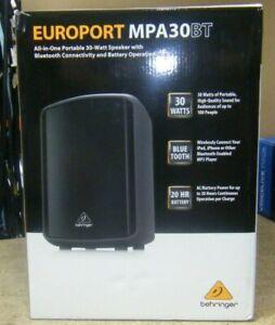 Behringer EUROPORT MPA30BT Active Bluetooth Speaker