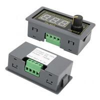 PWM Motor Speed Controller Governor Dimmer LED Light Digital Display Encoder