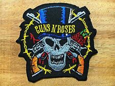 GUNS N' ROSES EMBROIDERED PATCH IRON ON or SEW. Hard rock Heavy metal Blues#2