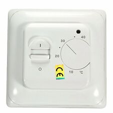 230V Manual Heating Thermostat for Underfloor Electric Heating System 16Amp Room