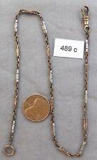 Vintage Light Weight Pocket Watch Chain