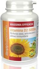 Vitamina D2 5000 iu 360 Compresse - E596