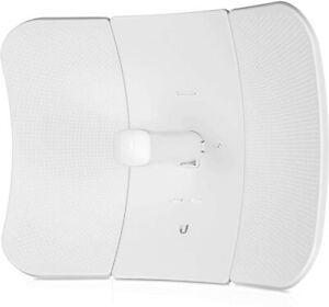 Ubiquiti LiteBeam ac LR LBE-5AC-LR-US 26 dBi 5 GHz airMAX AC Long-Range, White