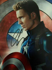 Chris Evans Signed 8x10 Photo Picture Autographed Pic
