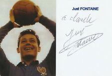 Autographe Original: JUST FONTAINE