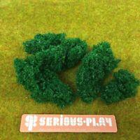 Serious-Play Dark Green Leaf Foliage ~ Clump Leaves Scenery Model Railway bush