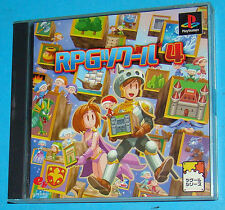 RPG Maker 4 - Sony Playstation - PS1 PSX - JAP Japan