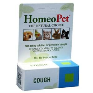 Homeopet Kennel & Persistent Cough Relief Respiratory Remedy Dog & Cat