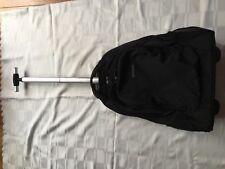 Samsonite Rewind Laptop Backpack with wheels 55/20, 55 cm, 32,5 L, Black