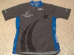 LOUIS GARNEAU BRAND CONSTELLATION BRANDS WINE 1/2 ZIP CYCLING JERSEY-WOMEN SM