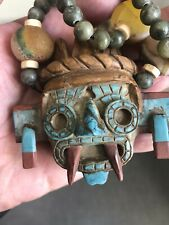 Carved Stone/ Tlaloc Aztec God