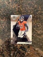 2020 Panini Mosaic #219 KJ Hamler RC Rookie Broncos