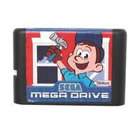 Fix It Felix Jr 16 bit MD Game Card For Sega Mega Drive For Genesis