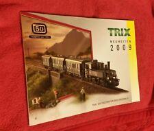 Trix Katalog Neuheiten 2009 148 Seiten neuwertig