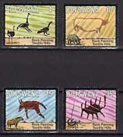 9211) Botswana 1975 Scott # 136/139 MNH Archeology
