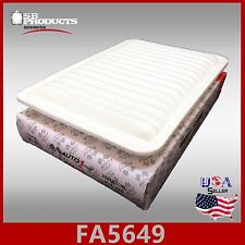 FA5649 CA10171 49223 ENGINE AIR FILTER ~ 07-17 TOYOTA CAMRY & 09-16 VENZA 4CYL