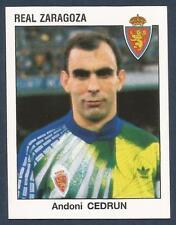 PANINI FUTBOL 93-94 SPANISH -#344-REAL ZARAGOZA-ANDONI CEDRUN